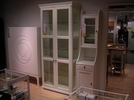 IKEA,食器戸棚,キャビネット